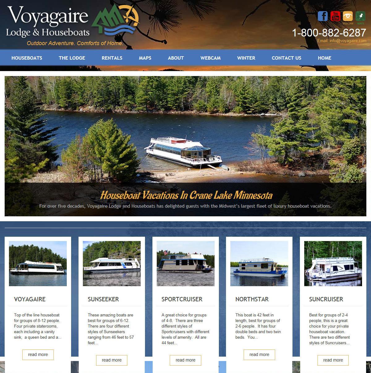 Houseboats - Crane Lake - Minnesota Resort Houseboat